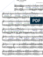 Fake Your Death Piano Sheet Music