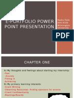 soar e-portfolio presentation