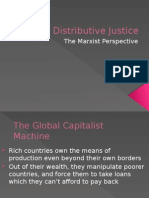 The Marxist Perspective on Global Distributive Justice