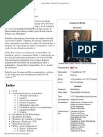 Leonhard Euler – Wikipédia, A Enciclopédia Livre