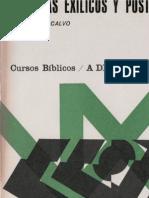 24343274 Curso Biblico 09 Profetas Exilicos y Post