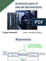 Escalado de Biorreactores