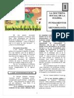 Tema01 La Doctrina Social de La Iglesia.fundamentos y Metodologia