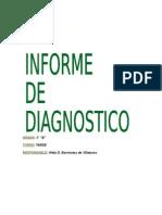 Informe de Diagnostico