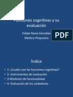 Funciones Cogjnitivas y Su Evaluación