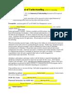 hcmunderstanding statement form porfolio