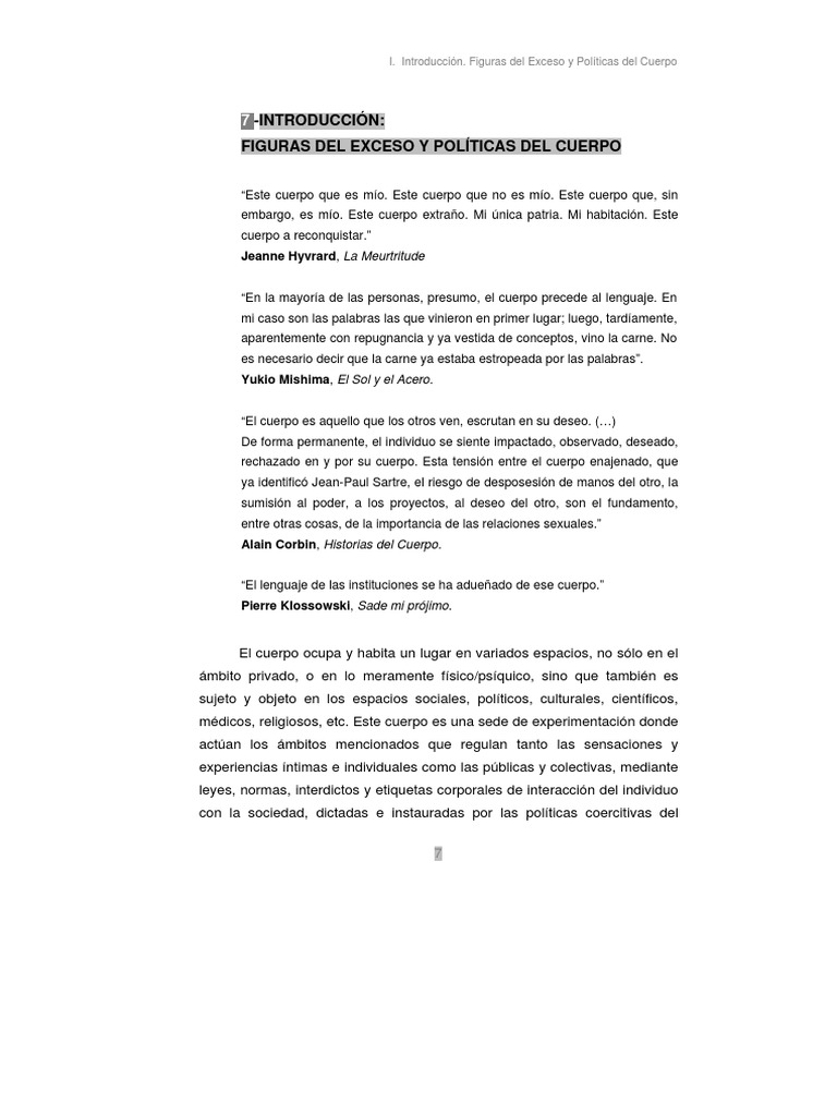 TesisCUERPO Figuras Del ExcesO