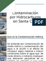 Contaminación Por Hidrocarburos en Santa Cruz