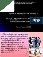 Proyectos de Futuro II 2012