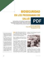 Bioseguridad en Los Programas de Salud Porcina