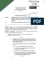 Revenue Regulations No 4-2015