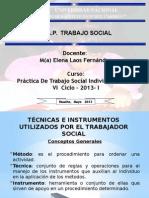 tecnicas e instrumentos utilizados por el trabajador social.pptx