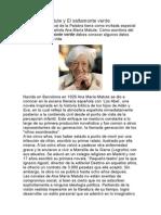 Ana María Matute y El Saltamonte Verde