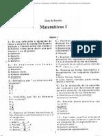 Matematicas I 1