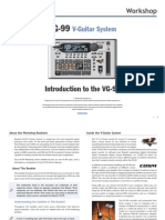 Roland Vg-99 Guitar System Workshop 01