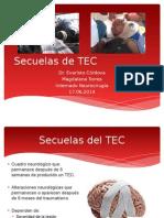 Secuelas de TEC