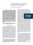 Integrated Bandwidth Allocation and Wavelength Assignment in WDM-PON Networks (2008)