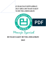 Panduan Hak Pasien Dan Keluarga Rumah Sakit Bunda Sidoarjo