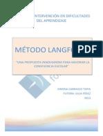 Metodo Langford Una Propuesta Innovadora Para Mejorar La Convivencia Escolar