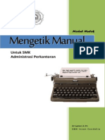 Modul Mengetik Manual
