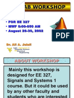 MATLAB workshop lecture 1.ppt