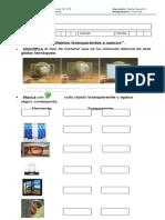 Guía, Objetos transparentes y Opacos..docx
