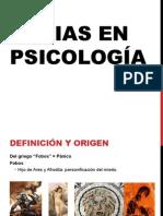 Fobias Psicologia