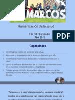 Calidad de Vida, Derecho y Humanización de La Salud 2015 Lita Ortiz