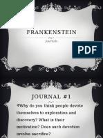 frankenstein journals