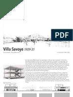 Villa Savoye Form