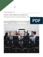 Polycom telepresencia