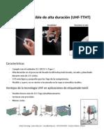 Inblay - Spec Tag UHF Textiles