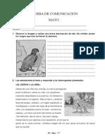 Evaluaciones 3º - Mayo