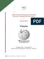 Wikipedia Contribution Individuelle Au Service de l Intelligence Collective