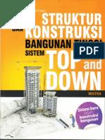 Struktur Dan Konstruksi Bangunan Tinggi Sistem Top and Down