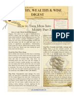 Turn Your Ideas Into Money Pt 2 (PDF)