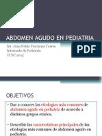 Abdomen Agudo en Pediatria