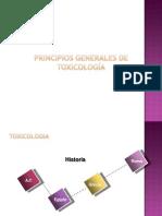 TOXICOLOGIA GENERALIDADES C1