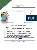 Ordenanza Final Del CLPP
