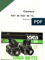 Cámara KIEV 88 / Manual