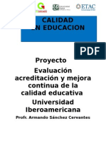 Acreditación y certificación de escuelas superiores