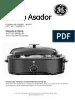 GE Horno Asador Manual
