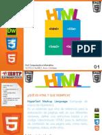 Sesion 02 - HTML y Etiquetas