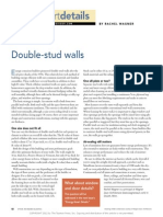 Double Stud Walls