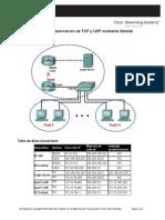 4 5 1 Observacion de Tcp y Udp Utilizado Netstat