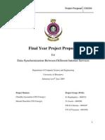 Project Proposal CS4200