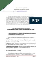 Texto Como Implementar o Processo de Avaliacao 1 Aula