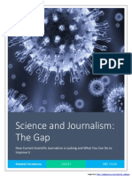 science journalism industry