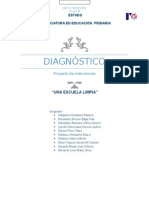Diagnóstico Proyecto de Intervención