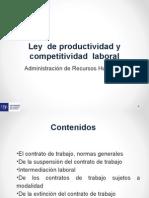 Presentacion Ley de Productividad